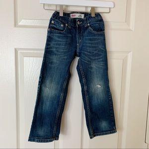 Levi's 505 Straight Regular Fit Boys 5 Reg Jeans